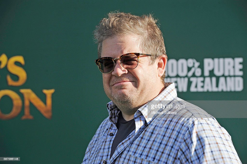 Actor Patton Oswalt attends the premiere of Disney's 'Pete's Dragon' at the El Capitan Theatre on August 8 2016 in Hollywood California