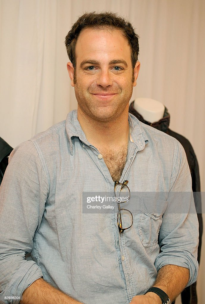 Actor Paul Adelstein poses with the Monarchy Collection display during the HBO Luxury Lounge in honor of the 60th annual Primetime Emmy Awards featuring the In Style diamond suite, held at the Four Seasons Hotel on September 21, 2008 in Beverly Hills, California.