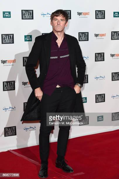 Actor Paul Anderson attends the Birmingham Premiere of Peaky Blinders at cineworld on October 30 2017 in Birmingham England
