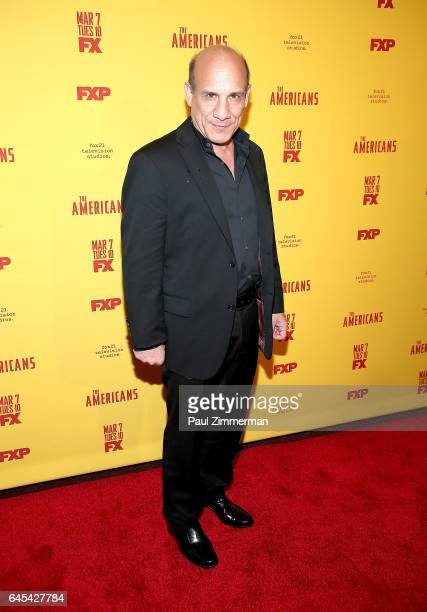 Actor Paul BenVictor attends 'The Americans' Season 5 Premiere at DGA Theater on February 25 2017 in New York City