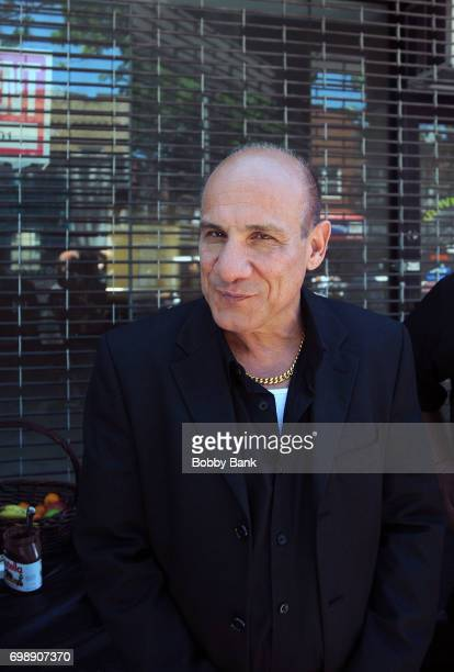 Actor Paul BenVictor on the set of 'The Neighborhood' on June 20 2017 in New York City