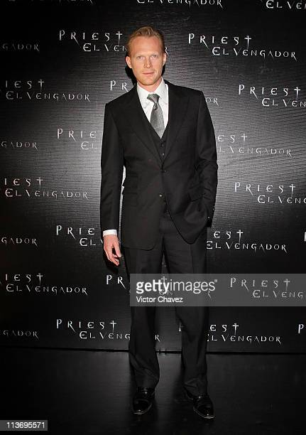 Actor Paul Bettany arrives at the premiere of 'The Priest' held at Cinepolis Universidad on May 4 2011 in Mexico City Mexico