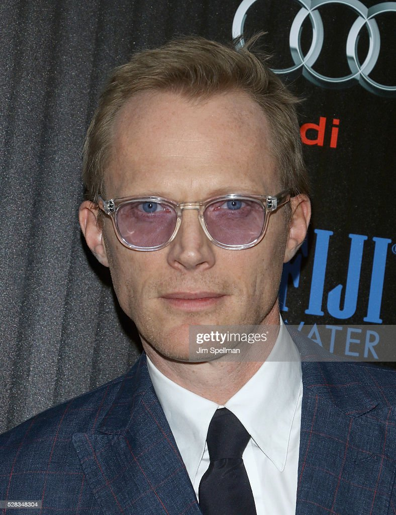 Actor Paul Bettany attends the screening of Marvel's 'Captain America: Civil War' hosted by The Cinema Society with Audi & FIJI at Brookfield Place on May 4, 2016 in New York City.