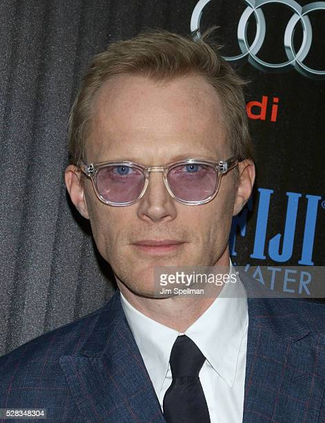 Actor Paul Bettany attends the screening of Marvel's 'Captain America Civil War' hosted by The Cinema Society with Audi FIJI at Brookfield Place on...