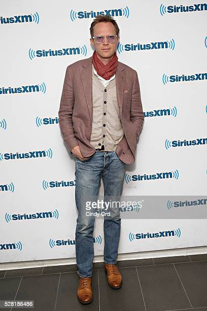 Actor Paul Bettany visits the SiriusXM Studios on May 04 2016 in New York New York