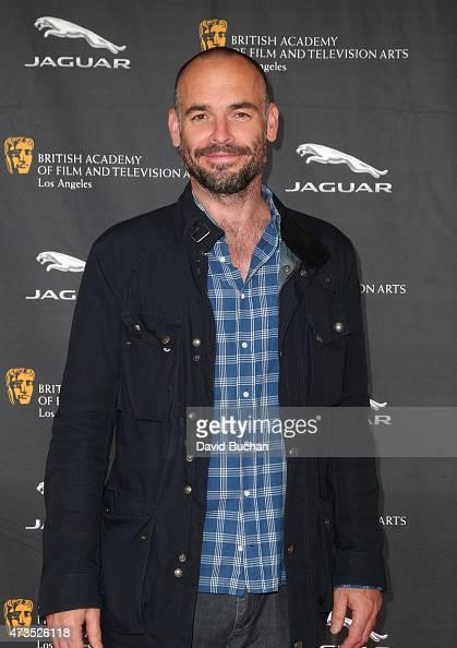 Actor Paul Blackthorne attends BAFTA LA's Washington Prep High School Film Festival at George Washington Preparatory High School on May 15 2015 in...