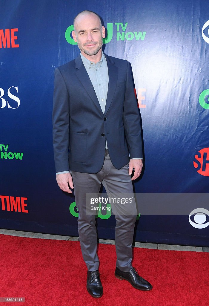 Actor Paul Blackthorne attends CBS' 2015 Summer TCA Party at Pacific Design Center on August 10 2015 in West Hollywood California
