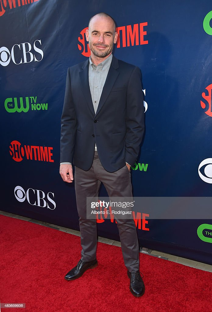 Actor Paul Blackthorne attends CBS' 2015 Summer TCA party at the Pacific Design Center on August 10 2015 in West Hollywood California