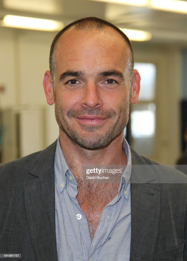 Actor Paul Blackthorne attends the BAFTA LA Outreach Project at Washington Prep High School Film Festival on May 16 2014 in Los Angeles California