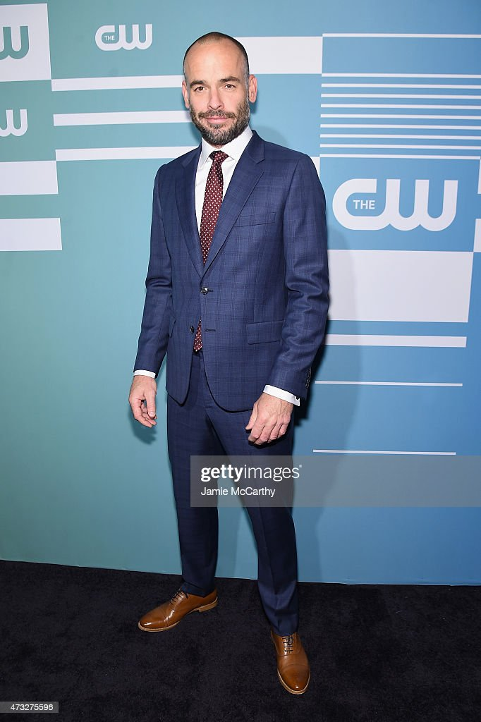 Actor Paul Blackthorne attends the CW Network's 2015 Upfront at the London Hotel on May 14 2015 in New York City