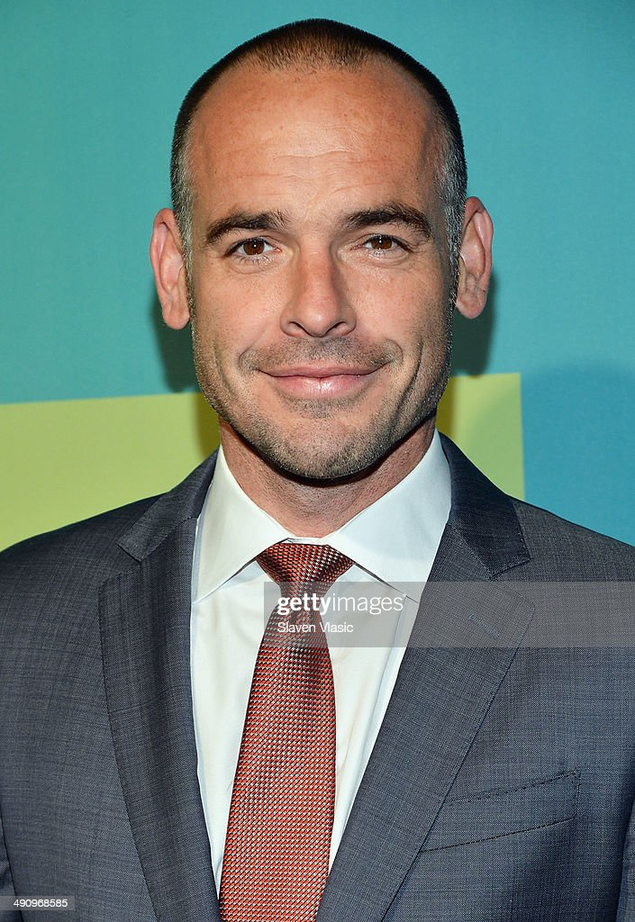 Actor Paul Blackthorne attends the CW Network's New York 2014 Upfront Presentation at The London Hotel on May 15 2014 in New York City