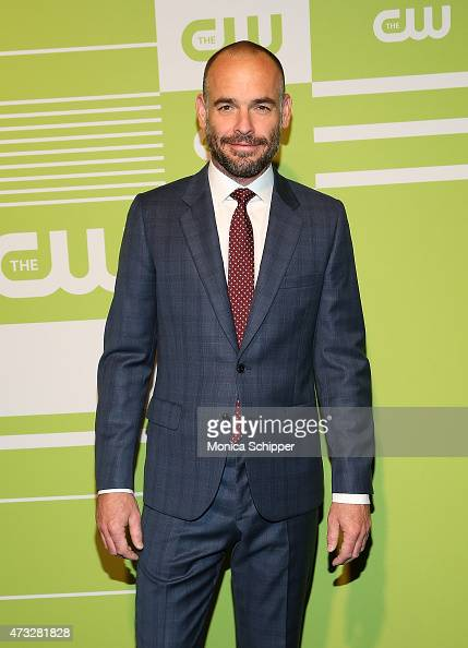 Actor Paul Blackthorne attends The CW Network's New York 2015 Upfront Presentation at The London Hotel on May 14 2015 in New York City