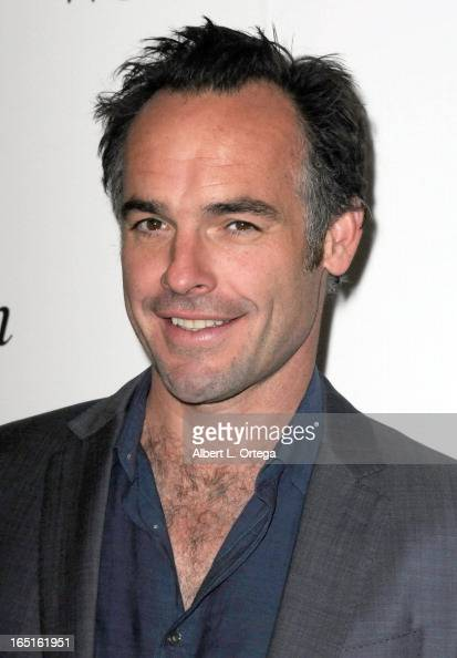 Actor Paul Blackthorne promotes the WB's 'Arrow' at WonderCon Anaheim 2013 Day 3 held at Anaheim Convention Center on March 31 2013 in Anaheim...