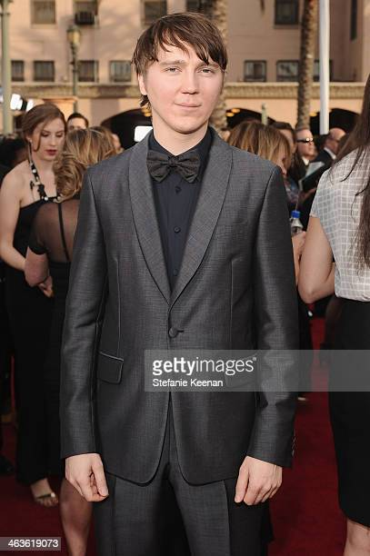 Actor Paul Dano attends 20th Annual Screen Actors Guild Awards at The Shrine Auditorium on January 18 2014 in Los Angeles California