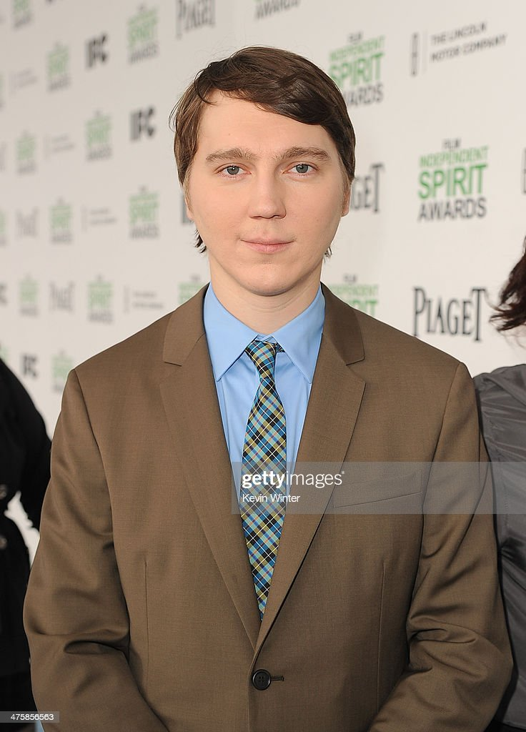 Actor <a gi-track='captionPersonalityLinkClicked' href=/galleries/search?phrase=Paul+Dano&family=editorial&specificpeople=550442 ng-click='$event.stopPropagation()'>Paul Dano</a> attends the 2014 Film Independent Spirit Awards at Santa Monica Beach on March 1, 2014 in Santa Monica, California.