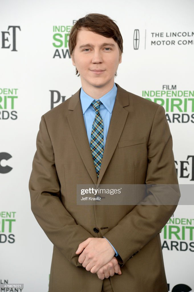 Actor Paul Dano attends the 2014 Film Independent Spirit Awards on March 1, 2014 in Santa Monica, California.