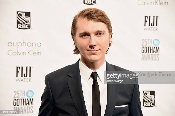 Actor Paul Dano attends the 25th Annual Gotham Independent Film Awards at Cipriani Wall Street on November 30 2015 in New York City