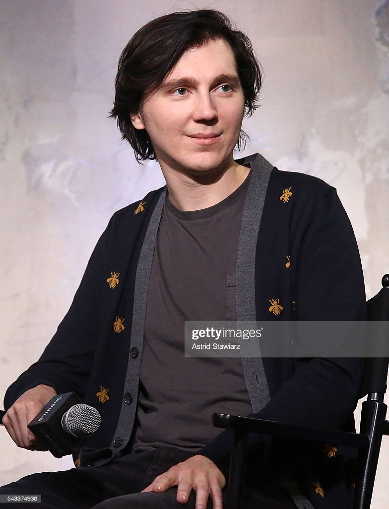 Actor <a gi-track='captionPersonalityLinkClicked' href=/galleries/search?phrase=Paul+Dano&family=editorial&specificpeople=550442 ng-click='$event.stopPropagation()'>Paul Dano</a> attends the AOL Build Presents series to discuss the movie 'Swiss Army Man' at AOL Studios In New York on June 27, 2016 in New York City.