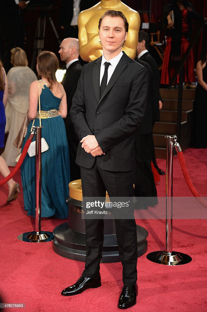 Actor <a gi-track='captionPersonalityLinkClicked' href=/galleries/search?phrase=Paul+Dano&family=editorial&specificpeople=550442 ng-click='$event.stopPropagation()'>Paul Dano</a> attends the Oscars held at Hollywood & Highland Center on March 2, 2014 in Hollywood, California.