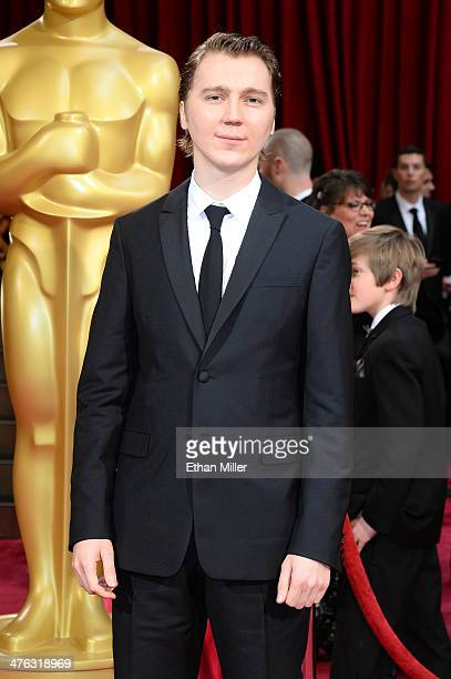 Actor Paul Dano attends the Oscars held at Hollywood Highland Center on March 2 2014 in Hollywood California