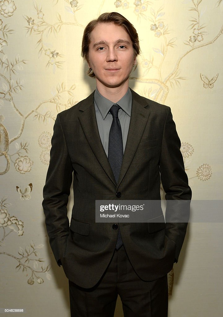 Actor Paul Dano attends The Weinstein Company And AE Networks 'War And Peace' Screening at The London West Hollywood on January 11 2016 in West...