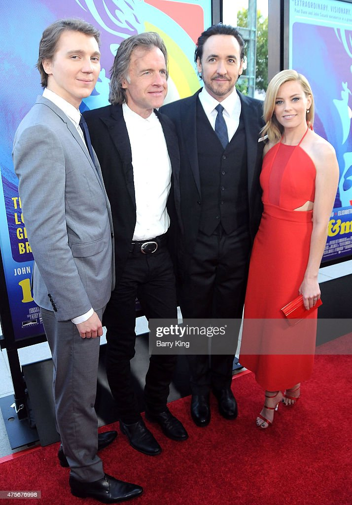 Actor <a gi-track='captionPersonalityLinkClicked' href=/galleries/search?phrase=Paul+Dano&family=editorial&specificpeople=550442 ng-click='$event.stopPropagation()'>Paul Dano</a>, director <a gi-track='captionPersonalityLinkClicked' href=/galleries/search?phrase=Bill+Pohlad&family=editorial&specificpeople=2255743 ng-click='$event.stopPropagation()'>Bill Pohlad</a>, actor <a gi-track='captionPersonalityLinkClicked' href=/galleries/search?phrase=John+Cusack&family=editorial&specificpeople=216451 ng-click='$event.stopPropagation()'>John Cusack</a> and actress <a gi-track='captionPersonalityLinkClicked' href=/galleries/search?phrase=Elizabeth+Banks&family=editorial&specificpeople=202475 ng-click='$event.stopPropagation()'>Elizabeth Banks</a> attend the premiere of Lionsgate and Roadside Attractions' 'Love & Mercy' at the AMPAS Samuel Goldwyn Theater on June 2, 2015 in Beverly Hills, California.