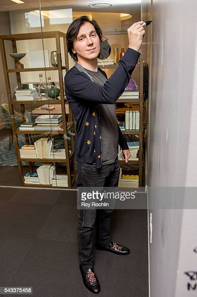 Actor Paul Dano discusses his new film 'Swiss Army Man' with AOL Build at AOL Studios In New York on June 27 2016 in New York City