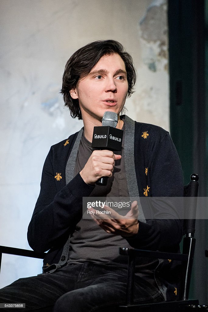 Actor Paul Dano discusses his new film 'Swiss Army Man' with AOL Build at AOL Studios In New York on June 27, 2016 in New York City.