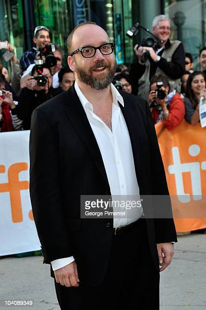 Actor Paul Giamatti attends 'Barney's Version' Premiere during the 35th Toronto International Film Festival at Roy Thomson Hall on September 12 2010...