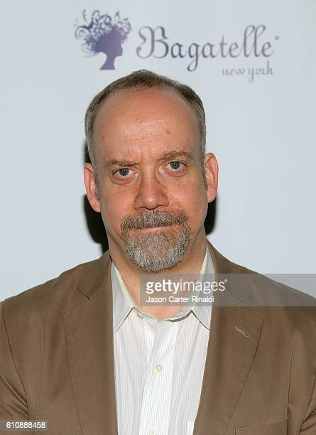 Actor Paul Giamatti attends Gotham Magazine Celebrates September Fall Fashion Issue with Cover Stars Paul Giamatti and Maggie Siff at Bagatelle on...