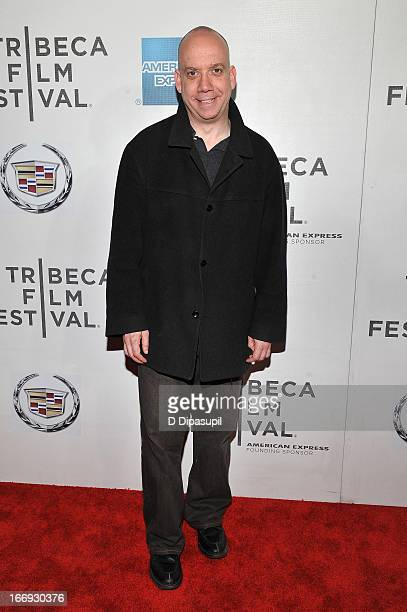 Actor Paul Giamatti attends the 'Almost Christmas' world premiere during the 2013 Tribeca Film Festival on April 18 2013 in New York City