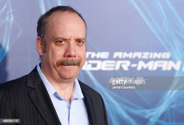 Actor Paul Giamatti attends 'The Amazing SpiderMan 2' premiere at the Ziegfeld Theater on April 24 2014 in New York City