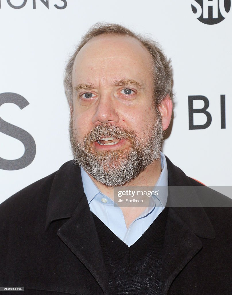 Actor Paul Giamatti attends the 'Billions' series premiere at Museum of Modern Art on January 7, 2016 in New York City.