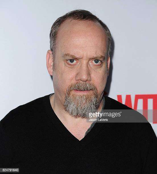 Actor Paul Giamatti attends the For Your Consideration screening and panel for Showtime's 'Billions' at The WGA Theater on April 26 2016 in Beverly...
