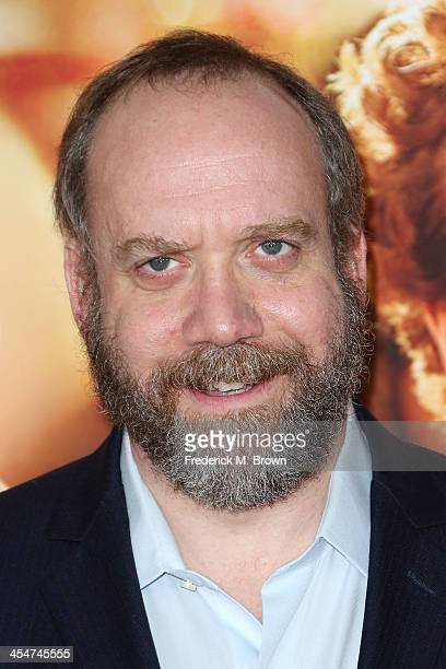 Actor Paul Giamatti attends the Premiere of Disney's 'Saving Mr Banks' at Walt Disney Studios on December 9 2013 in Burbank California