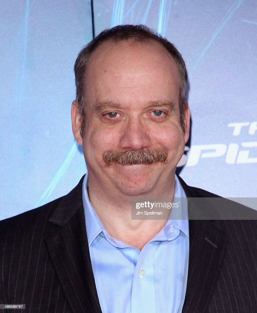 Actor <a gi-track='captionPersonalityLinkClicked' href=/galleries/search?phrase=Paul+Giamatti&family=editorial&specificpeople=202498 ng-click='$event.stopPropagation()'>Paul Giamatti</a> attends the 'The Amazing Spider-Man 2' New York Premiere on April 24, 2014 in New York City.
