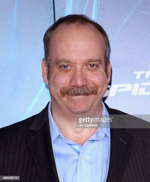 Actor Paul Giamatti attends the 'The Amazing SpiderMan 2' New York Premiere on April 24 2014 in New York City