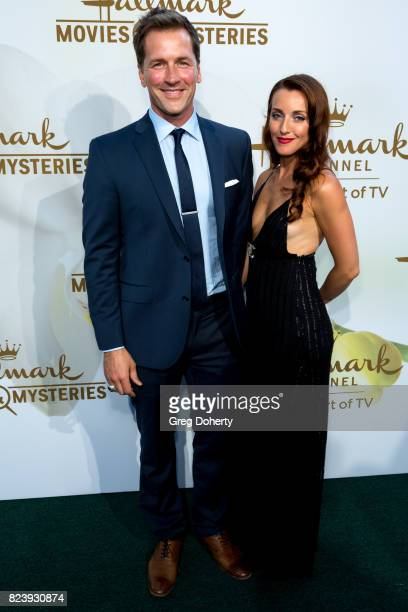 Actor Paul Greene and guest arrive for the 2017 Summer TCA Tour Hallmark Channel And Hallmark Movies And Mysteries on July 27 2017 in Beverly Hills...