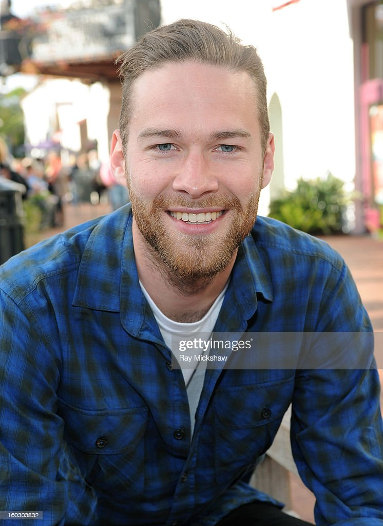 Actor Paul Haapaniemi of the film 'The Racket Boys' attends the 28th Santa Barbara International Film Festival on January 28, 2013 in Santa Barbara, California.