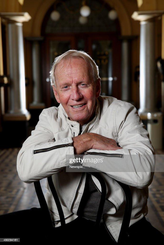 Paul Hogan Portrait Shoot In Melbourne