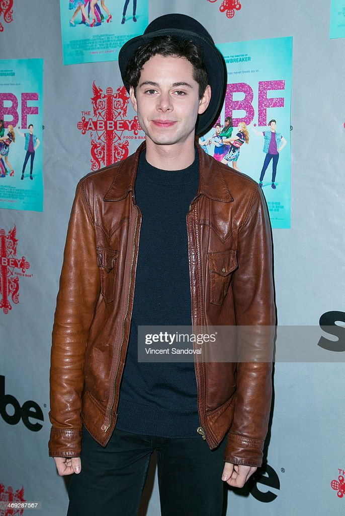 Actor <a gi-track='captionPersonalityLinkClicked' href=/galleries/search?phrase=Paul+Iacono&family=editorial&specificpeople=5588186 ng-click='$event.stopPropagation()'>Paul Iacono</a> attends the 'G.B.F.' DVD release party at The Abbey on February 13, 2014 in West Hollywood, California.