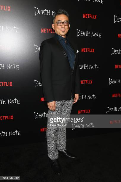 Actor Paul Nakauchi attends the 'Death Note' New York premiere at AMC Loews Lincoln Square 13 theater on August 17 2017 in New York City