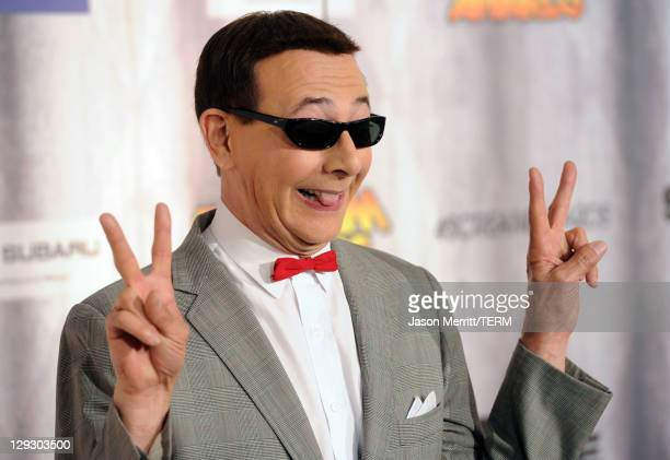 pee wee herman stock photos and pictures