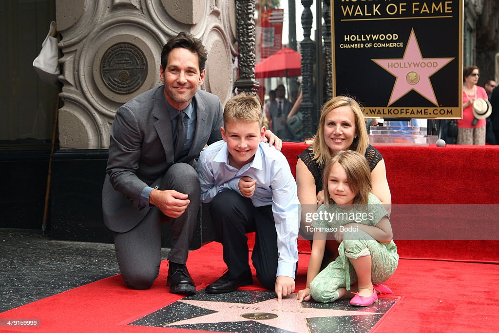 Paul Rudd Honored With Star On The Hollywood Walk Of Fame ...