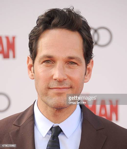 Actor Paul Rudd arrives at the premiere of Marvel Studios 'AntMan' at Dolby Theatre on June 29 2015 in Hollywood California
