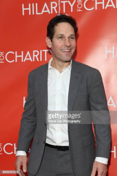 Actor Paul Rudd attends 3rd Annual Hilarity For Charity New York City Variety Show at Webster Hall on June 8 2017 in New York City