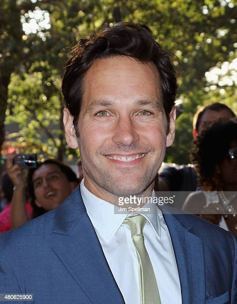 Actor Paul Rudd attends a Marvel's screening of 'AntMan' hosted by The Cinema Society and Audi on July 13 2015 in New York City