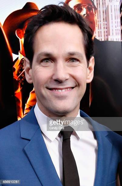Actor Paul Rudd attends the Anchorman 2 The Legend Continues Premiere Sponsored by Buffalo David Bitton on December 15 2013 in New York City