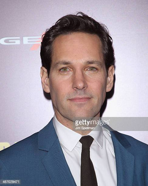 Actor Paul Rudd attends the 'Anchorman 2 The Legend Continues' US premiere at Beacon Theatre on December 15 2013 in New York City