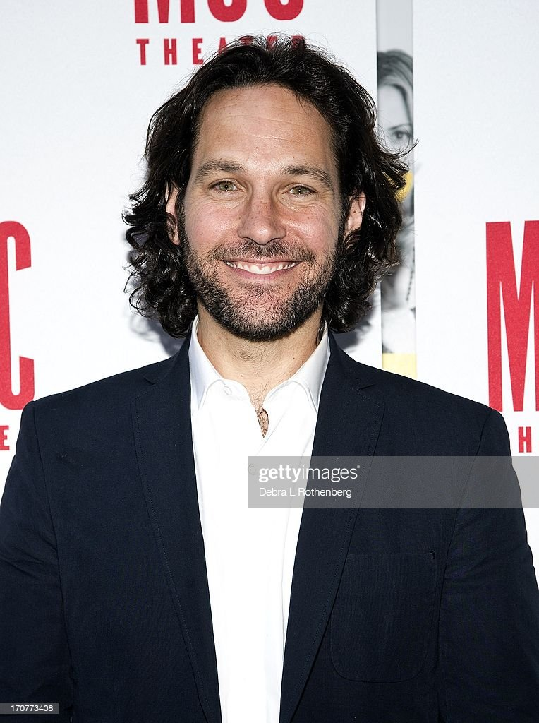 Actor Paul Rudd attends 'The Mercy Seat' Benefit Reading at Lucille Lortel Theatre on June 17 2013 in New York City